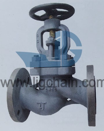 GBT 584 Marine Cast Iron Flanged Stop Valves