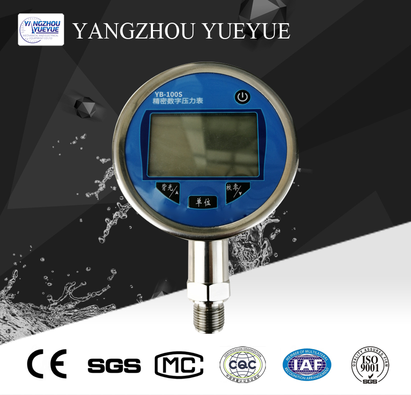 Precision digital pressure gauge(class:0.05)