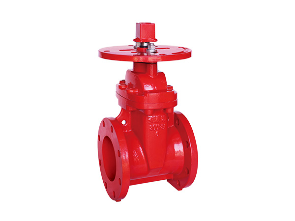 AWWA C515 300PSI  FLANGED NON-RISING GATE VALVE
