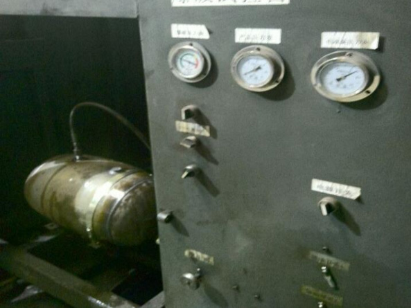 儲氣筒爆破試驗平臺