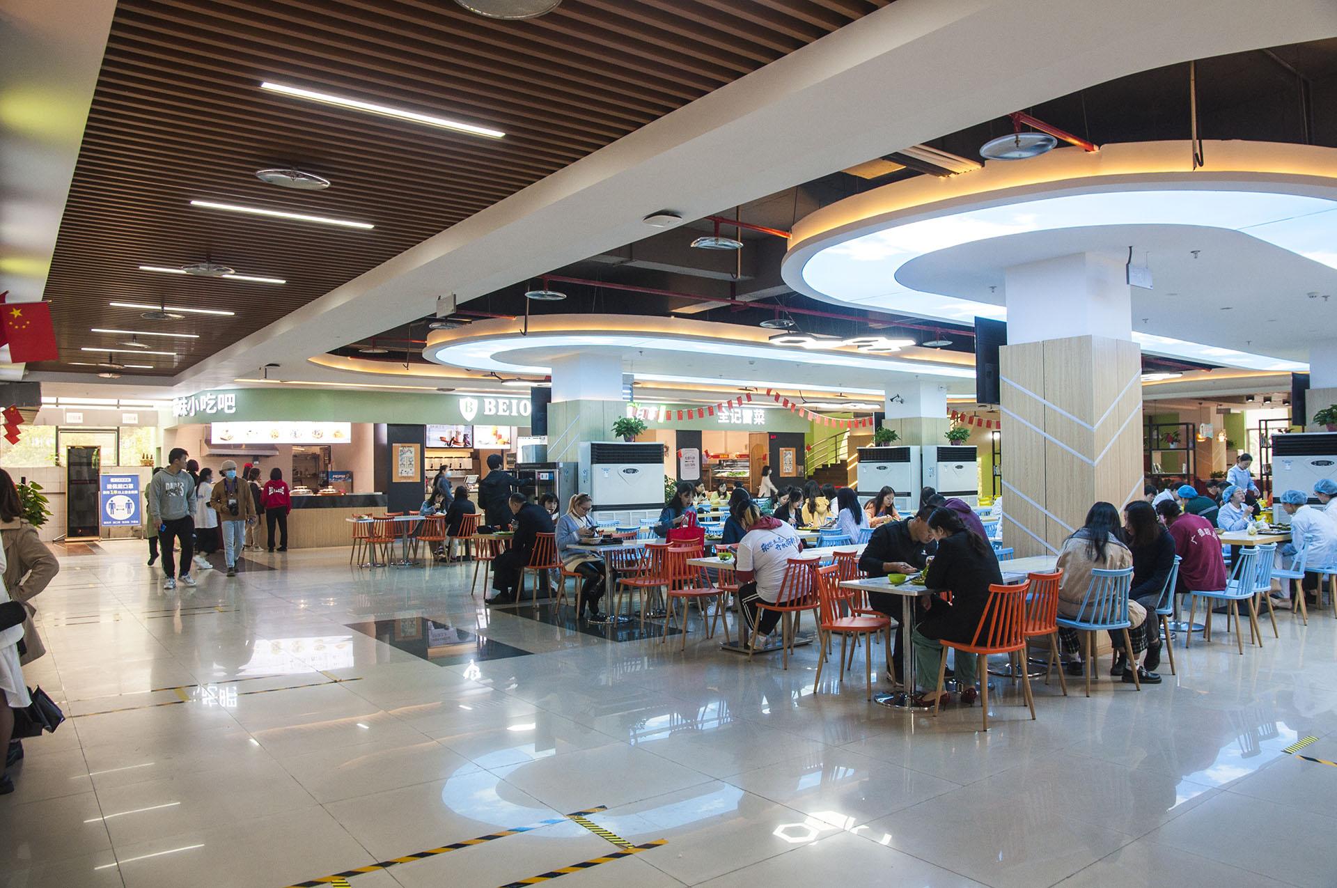 重庆工商职业学院华岩校区三食堂