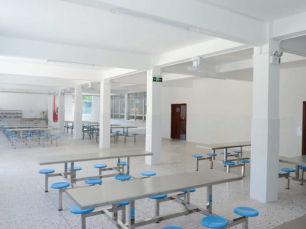Corner of the cafeteria