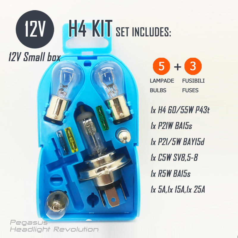 Light bulb set 12V