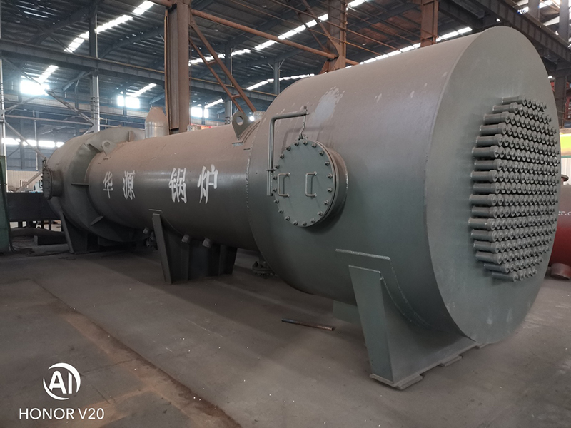 Sulfuric acid waste heat boiler