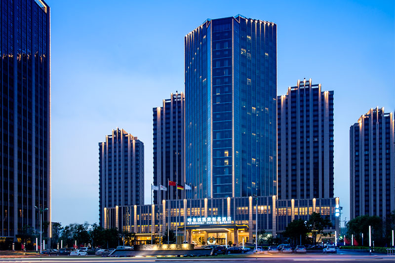 2017年魯班獎工程——江蘇江中集團有限公司承建的金河灣世紀廣場酒店
