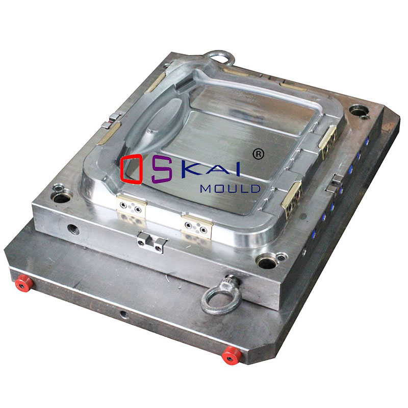 Tool box lid mould