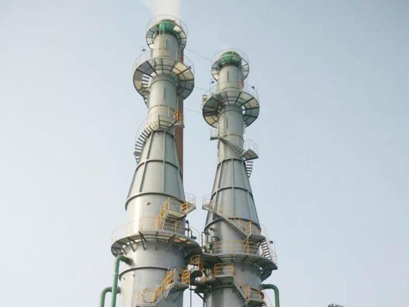 浙江双兔新材料有限公司烟气脱硫脱硝工程