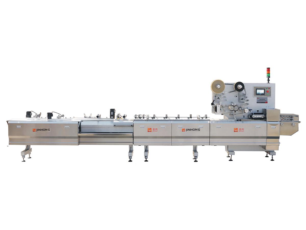 JH-Z1230/1231全自动理料/托盒枕式包装机