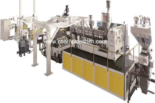 PP/PE/PS/EVA/EVOH multi-layer barrier sheet extrusion line