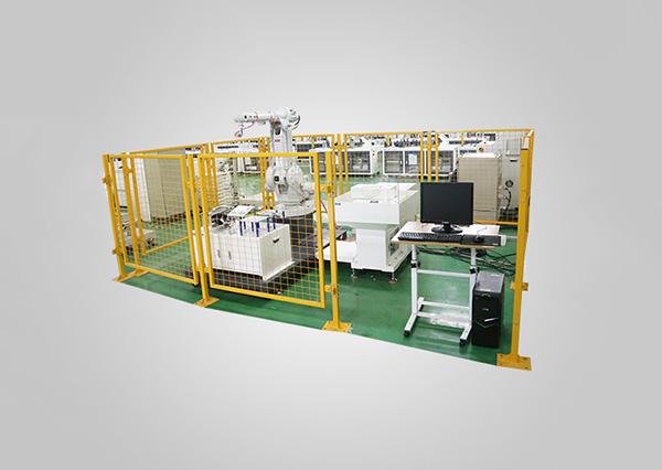 工業機器人噴涂技能考核工作站