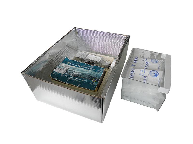 冷冻保温纸箱(内含视频)
