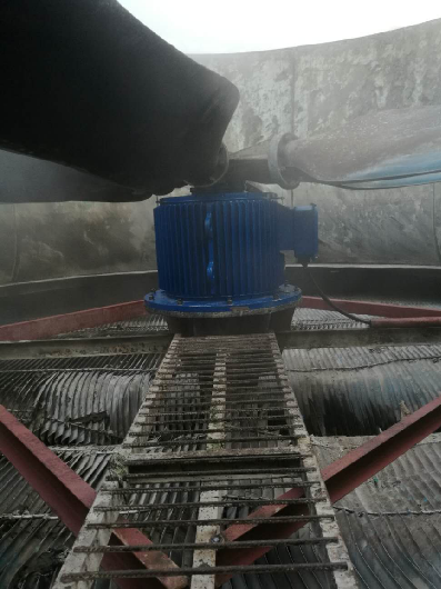 Permanent Magnet Motor for cooling fan in a cement plant