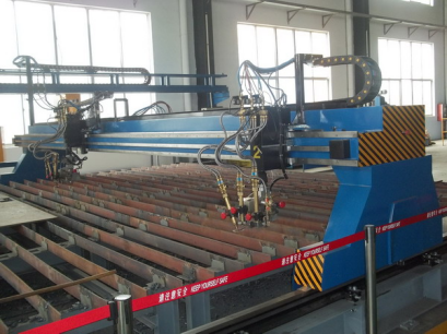 CNC flame plasma sheet cutting machine