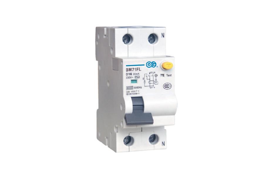BM71FL 系列帶過電流保護的剩余電流動作斷路器(電磁式)