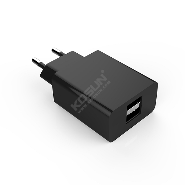 10.5W/17W Dual USB Ports European Wall Charger