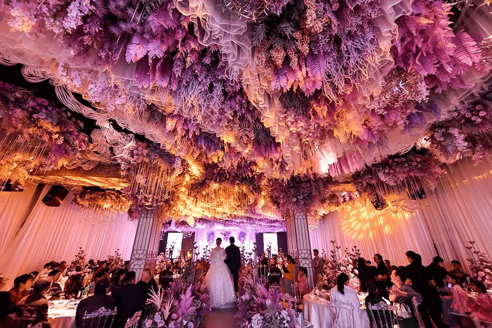 Wedding banquet in Chaohu City, Anhui Province