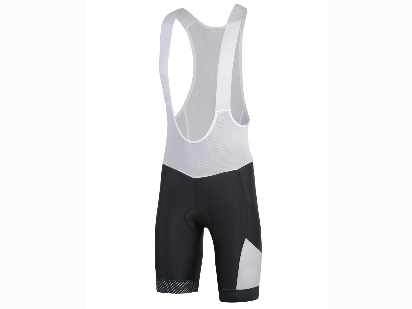 Men's knitted bicycle Bib short with pad