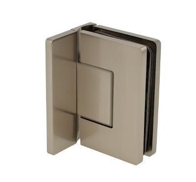 Heavy Duty Shower Hinge with Cover Plate Wall to Glass Offset