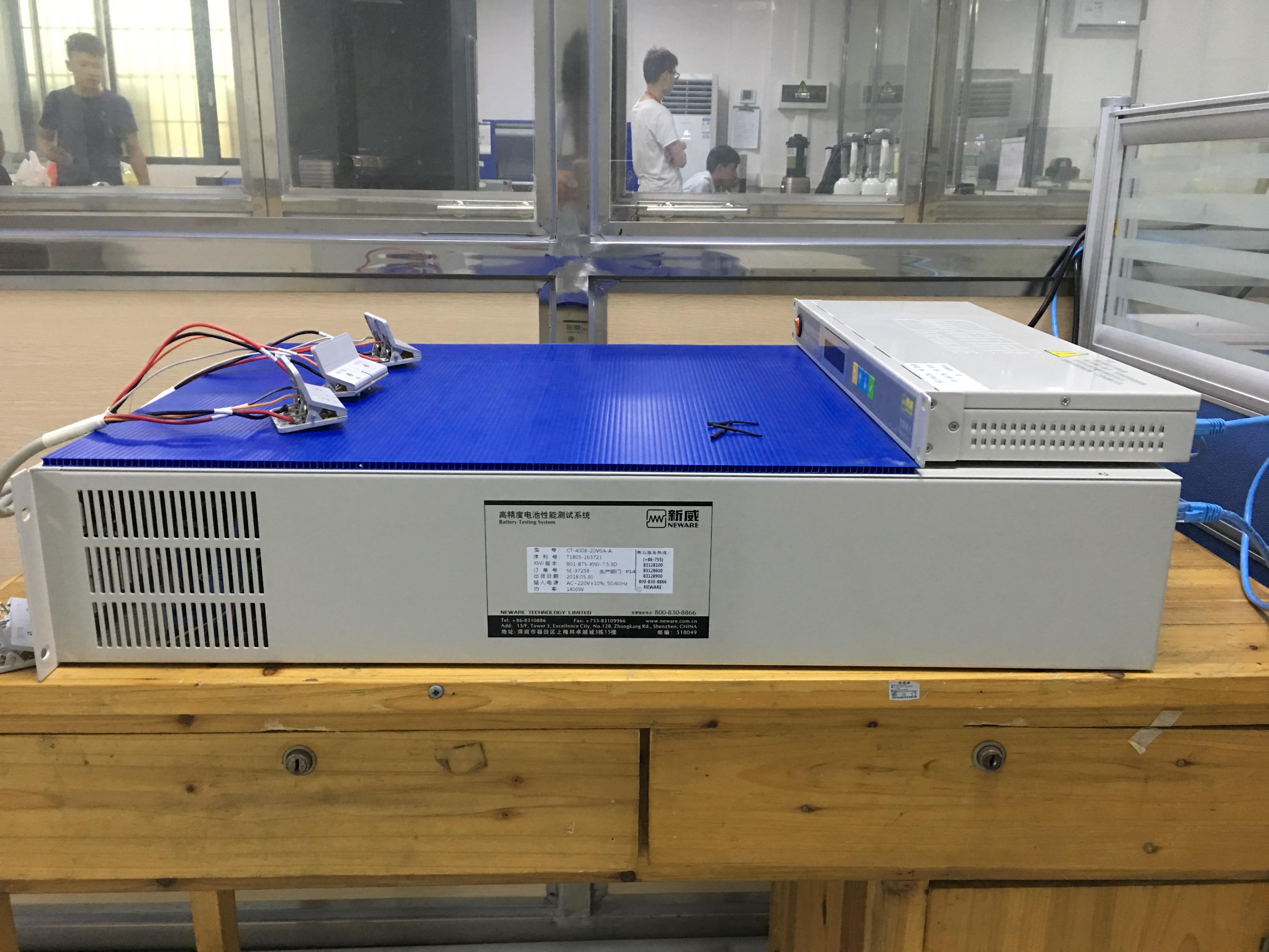 高精度电池性能测试系统