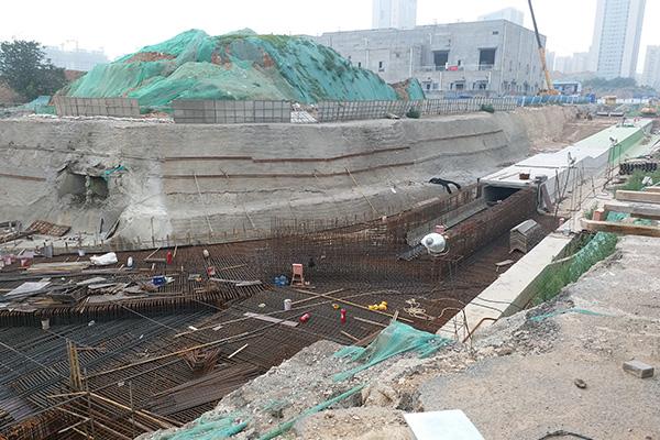 濟南市中央商務區地下通道
