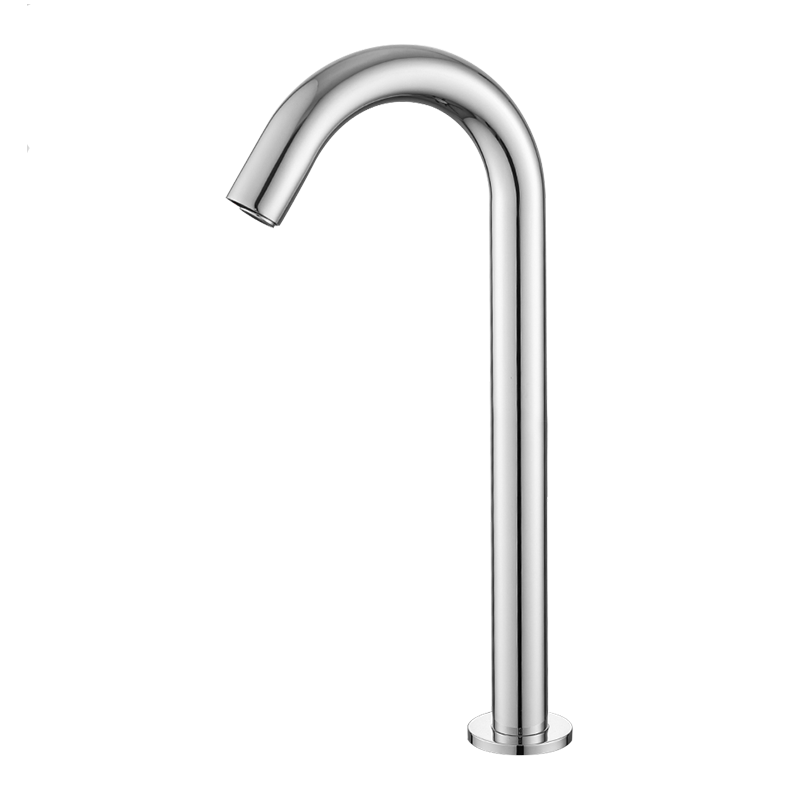 Chrome Automatic Sensor Touchless Faucets For Bathroom Deck