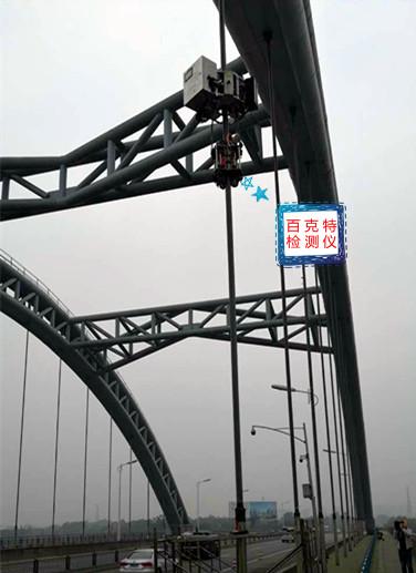 百克特為金馬湖大橋進行檢測服務!