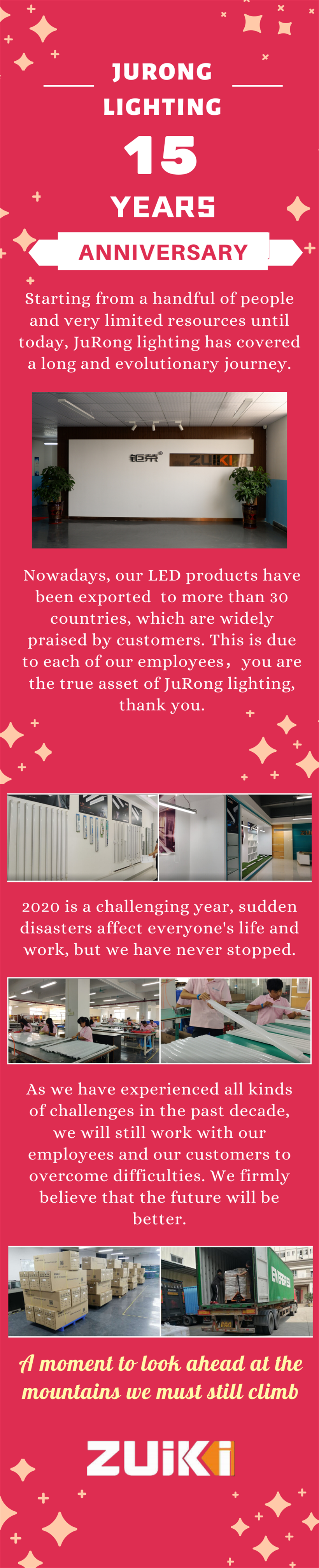 Jurong Lighting 15 Years Anniversary
