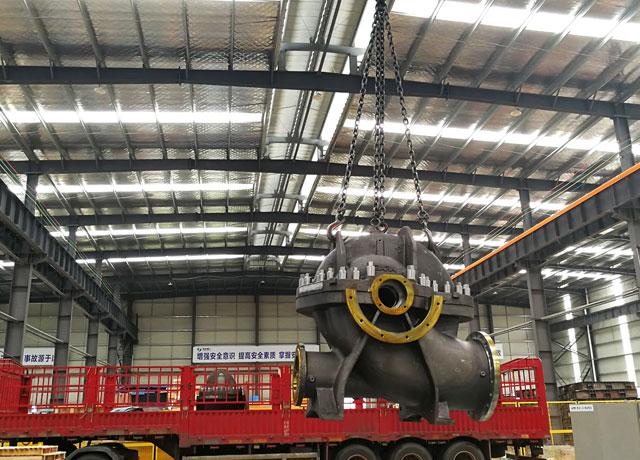 華峰重工為日本大型泵制造世界500強企業提供鑄件