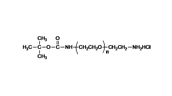 t-Boc Amine PEG Amine, HCl Salt