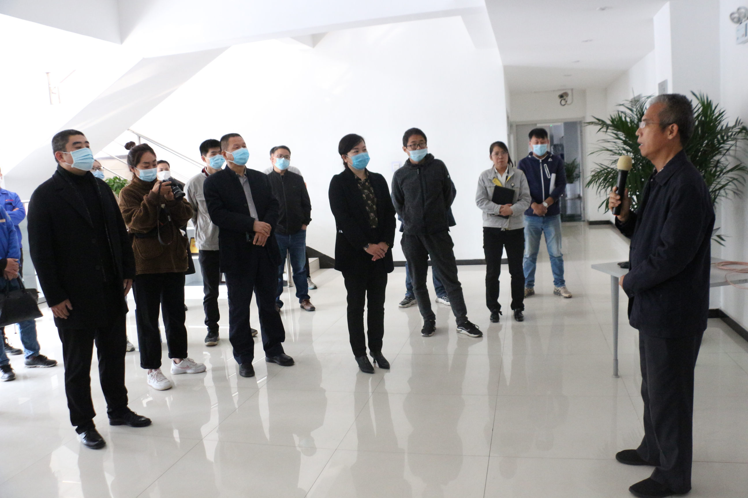 """助力""""一聯三幫""""行動,森海公司赴亞普公司交流學習"""