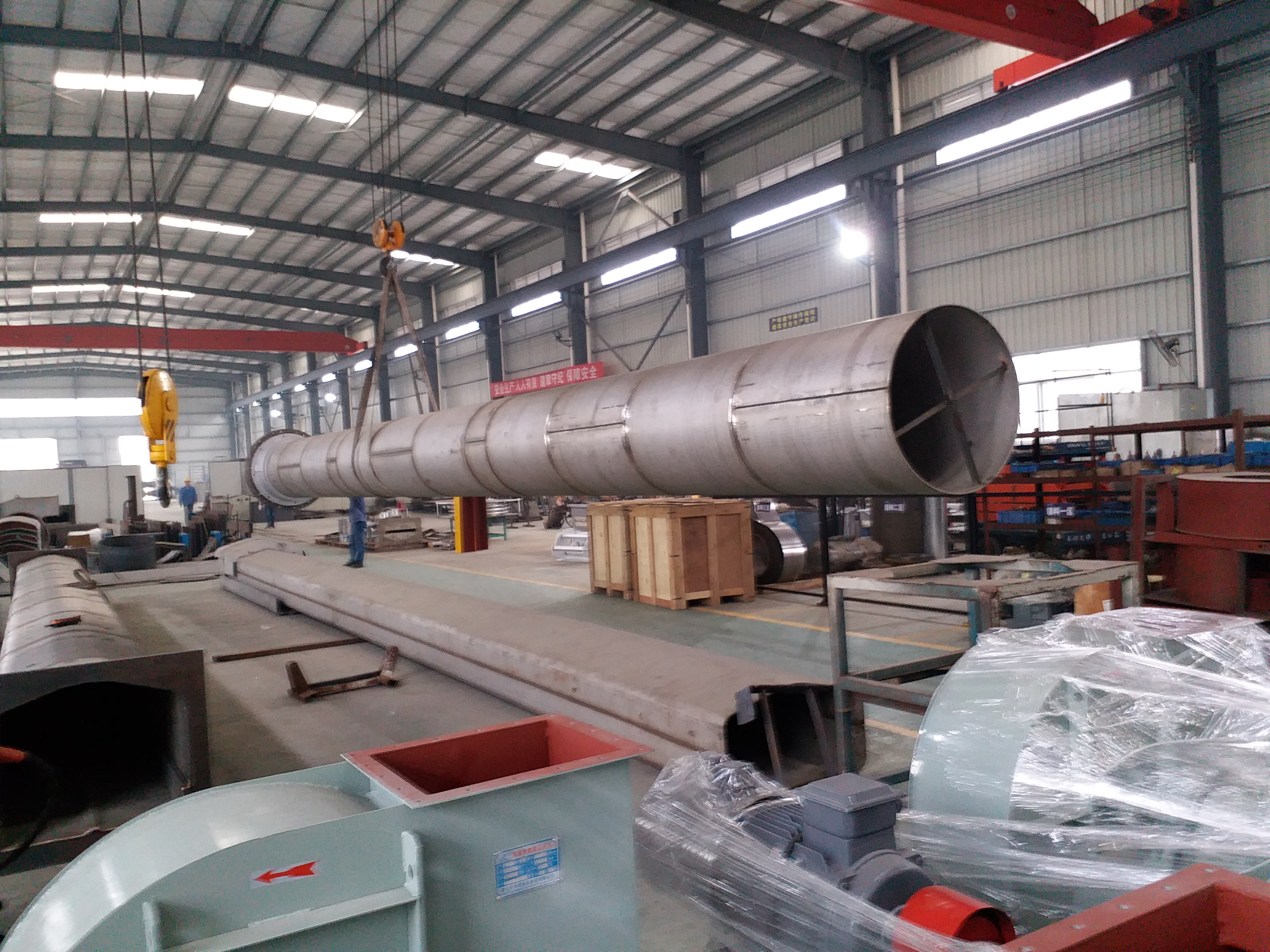 Bell for Vertical bright annealing line (VBAL)