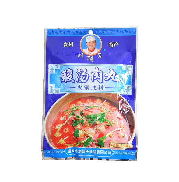 酸湯肉丸火鍋底料
