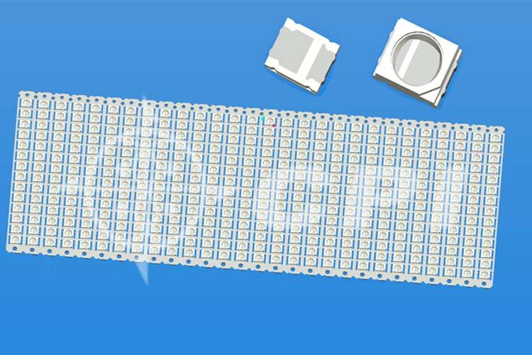 LED2835TV十四排橢圓杯杯深0.40總高0.80   (14X28)   (L09831A)