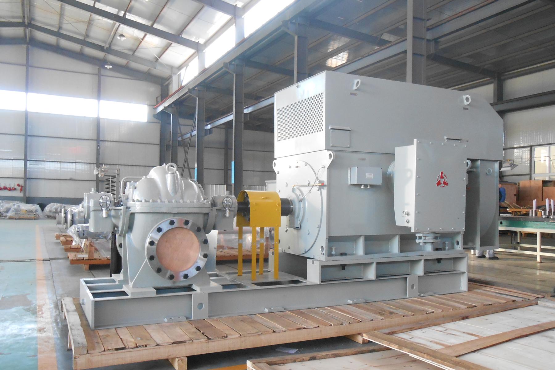 SBM單級雙吸離心泵(API610/BB1型式)