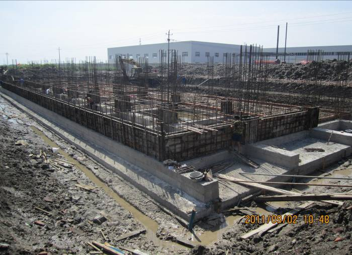 Po overflows Group, Melting Industry 60% complete infrastructure