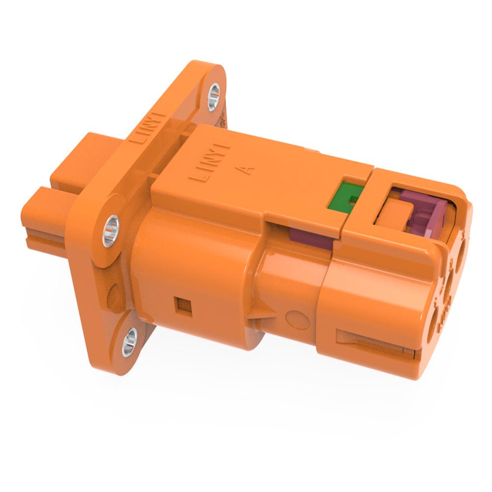 LVA630系列 塑料三芯高压连接器