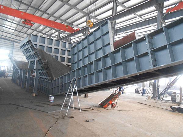 連云港港墟溝東泊位區和廟嶺散貨泊位區堆場工藝連接工程刮板給料機