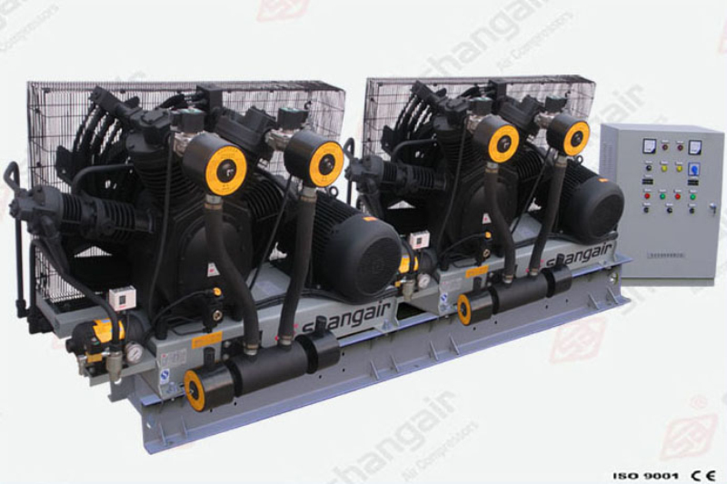 83 Series Air Compressor (Double-Engine Set)