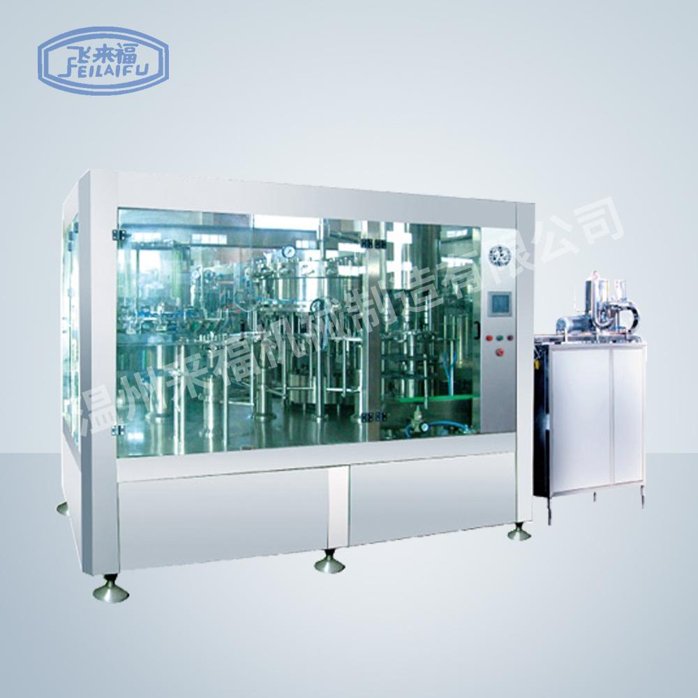JR18-18-6D 5000B/H沖瓶灌裝旋蓋三合一機