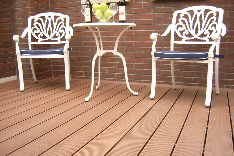 Outdoor WPC Backyard Decking/ Flooring