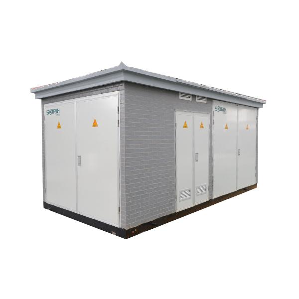 YB-12/0.4高壓低壓預裝式變電站
