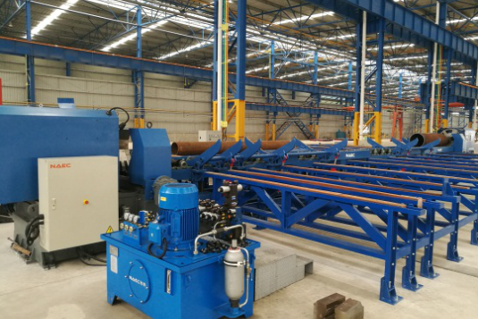 Double Head Pipe End Beveling Station
