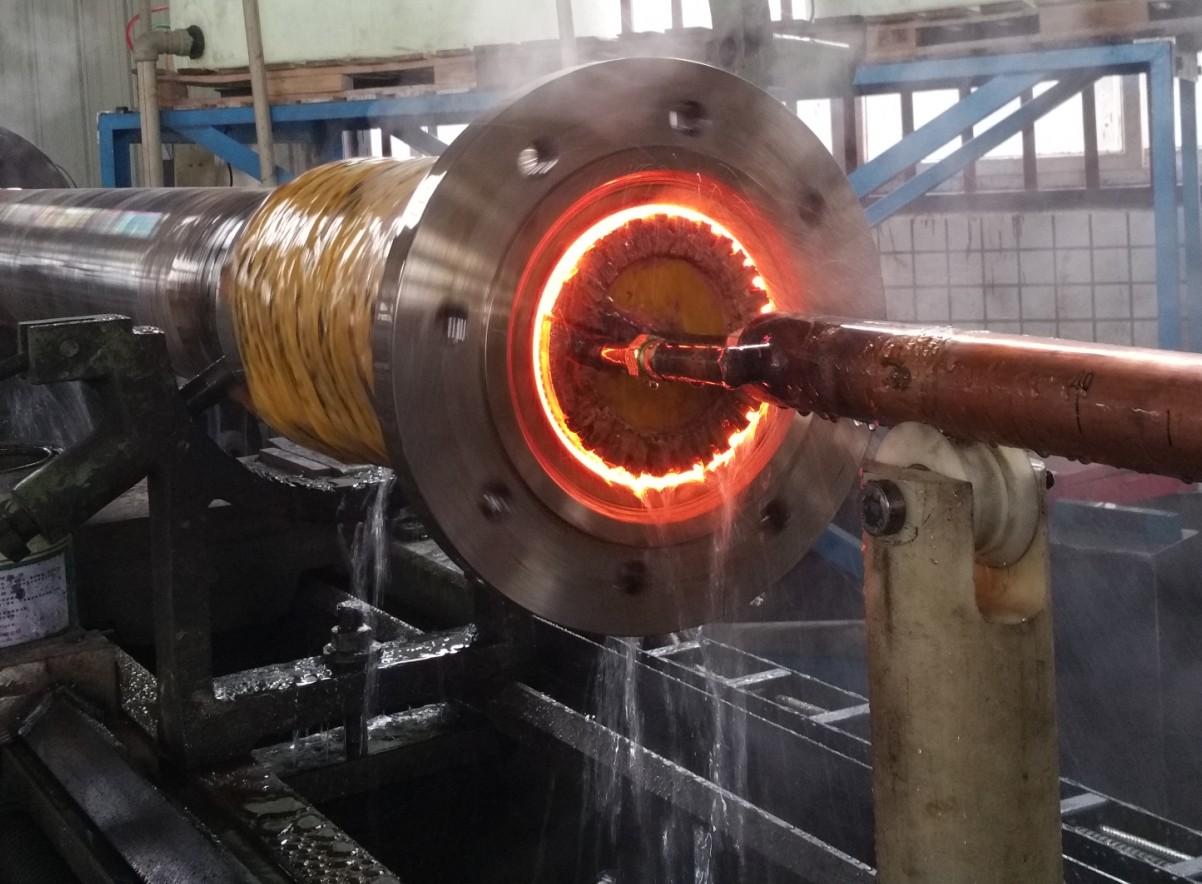 塑料造粒機螺桿料筒耐磨増硬核心技術