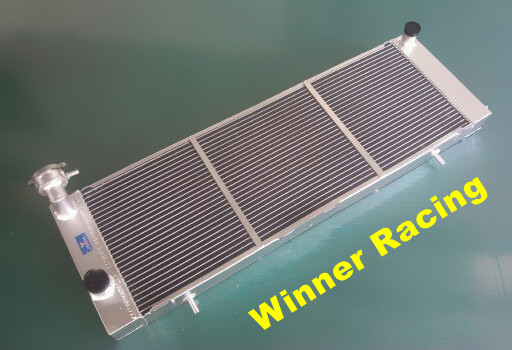 56mm high flow aluminum alloy radiator for Jeep Cherokee XJ 4.0 242 CID L6 MT 1984-1905