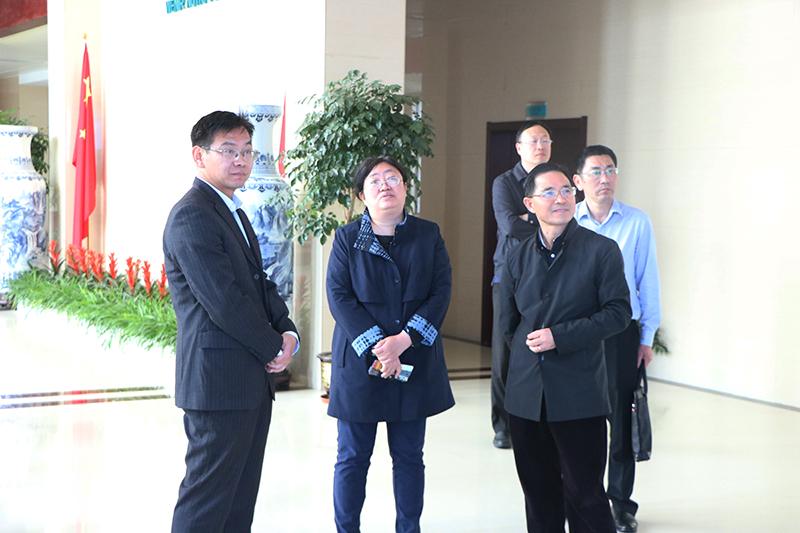 商务部调研组莅临维莱营健调研指导电子商务工作