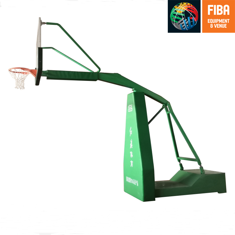 HQ-F1011 Box type basketball stand with FIBA certificate