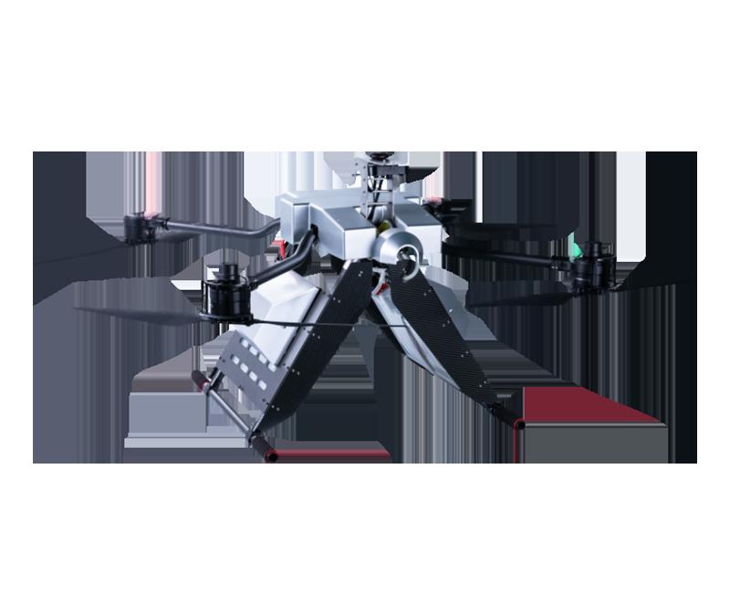 架空輸電線路飛行噴塗作業機器人