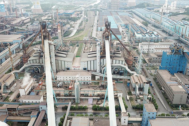 南鋼煉鐵廠新建4#5#高爐與2座220m燒結機接口