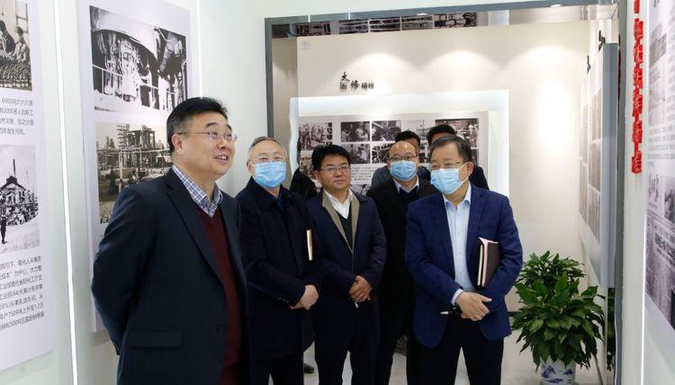 中國一冶集團領導雷晴一行拜訪葛化集團