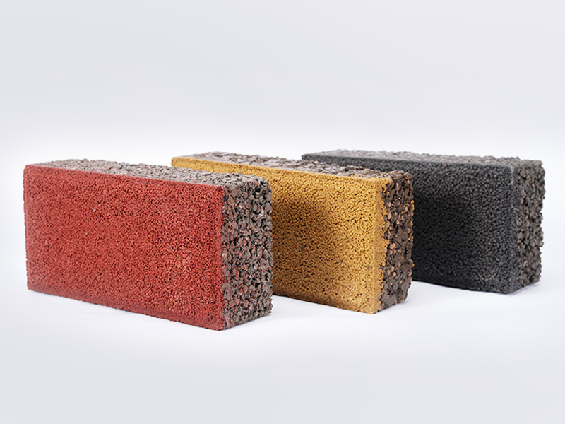 彩色混凝土路面磚